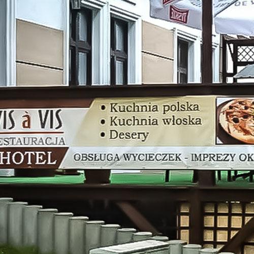 baner reklamowy hotel